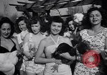 Image of chicken beauty pageant Petaluma California USA, 1947, second 30 stock footage video 65675040927