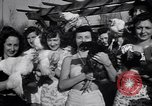 Image of chicken beauty pageant Petaluma California USA, 1947, second 32 stock footage video 65675040927