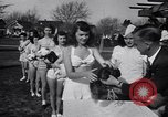 Image of chicken beauty pageant Petaluma California USA, 1947, second 36 stock footage video 65675040927