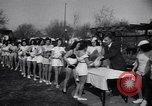 Image of chicken beauty pageant Petaluma California USA, 1947, second 38 stock footage video 65675040927