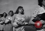 Image of chicken beauty pageant Petaluma California USA, 1947, second 50 stock footage video 65675040927