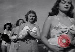 Image of chicken beauty pageant Petaluma California USA, 1947, second 51 stock footage video 65675040927
