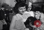 Image of chicken beauty pageant Petaluma California USA, 1947, second 58 stock footage video 65675040927