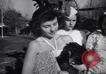 Image of chicken beauty pageant Petaluma California USA, 1947, second 60 stock footage video 65675040927