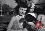 Image of chicken beauty pageant Petaluma California USA, 1947, second 62 stock footage video 65675040927