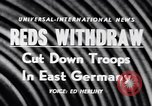 Image of Soviet Army reduction in East Germany East Germany, 1956, second 15 stock footage video 65675040939