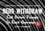 Image of Soviet Army reduction in East Germany East Germany, 1956, second 16 stock footage video 65675040939
