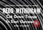 Image of Soviet Army reduction in East Germany East Germany, 1956, second 19 stock footage video 65675040939