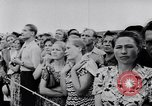 Image of Soviet aircraft show 1956 Moscow Russia Soviet Union, 1956, second 25 stock footage video 65675040945