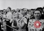 Image of Soviet aircraft show 1956 Moscow Russia Soviet Union, 1956, second 26 stock footage video 65675040945
