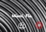 Image of Float parade Miami Florida USA, 1956, second 2 stock footage video 65675040949