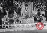 Image of Float parade Miami Florida USA, 1956, second 14 stock footage video 65675040949