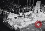 Image of Float parade Miami Florida USA, 1956, second 16 stock footage video 65675040949