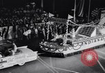 Image of Float parade Miami Florida USA, 1956, second 28 stock footage video 65675040949