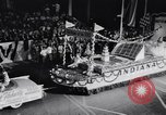 Image of Float parade Miami Florida USA, 1956, second 29 stock footage video 65675040949