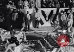 Image of Float parade Miami Florida USA, 1956, second 32 stock footage video 65675040949