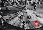 Image of Float parade Miami Florida USA, 1956, second 35 stock footage video 65675040949