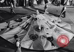 Image of Float parade Miami Florida USA, 1956, second 37 stock footage video 65675040949