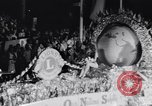 Image of Float parade Miami Florida USA, 1956, second 43 stock footage video 65675040949