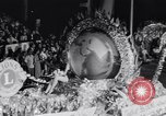 Image of Float parade Miami Florida USA, 1956, second 45 stock footage video 65675040949