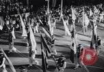 Image of Float parade Miami Florida USA, 1956, second 52 stock footage video 65675040949