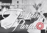 Image of Fashion parade New York United States USA, 1956, second 1 stock footage video 65675040950