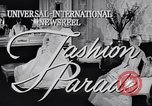 Image of Fashion parade New York United States USA, 1956, second 2 stock footage video 65675040950