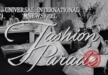 Image of Fashion parade New York United States USA, 1956, second 3 stock footage video 65675040950
