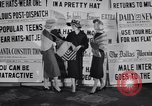 Image of Fashion parade New York United States USA, 1956, second 9 stock footage video 65675040950