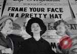 Image of Fashion parade New York United States USA, 1956, second 10 stock footage video 65675040950
