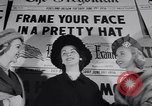 Image of Fashion parade New York United States USA, 1956, second 11 stock footage video 65675040950