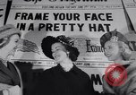 Image of Fashion parade New York United States USA, 1956, second 12 stock footage video 65675040950