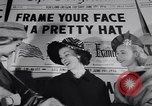 Image of Fashion parade New York United States USA, 1956, second 13 stock footage video 65675040950