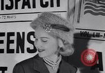 Image of Fashion parade New York United States USA, 1956, second 17 stock footage video 65675040950