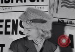 Image of Fashion parade New York United States USA, 1956, second 19 stock footage video 65675040950
