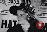 Image of Fashion parade New York United States USA, 1956, second 21 stock footage video 65675040950