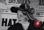 Image of Fashion parade New York United States USA, 1956, second 22 stock footage video 65675040950