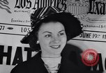 Image of Fashion parade New York United States USA, 1956, second 23 stock footage video 65675040950
