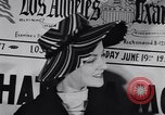 Image of Fashion parade New York United States USA, 1956, second 24 stock footage video 65675040950
