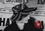 Image of Fashion parade New York United States USA, 1956, second 25 stock footage video 65675040950
