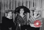 Image of Fashion parade New York United States USA, 1956, second 57 stock footage video 65675040950
