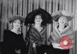 Image of Fashion parade New York United States USA, 1956, second 58 stock footage video 65675040950
