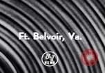 Image of Helicopter Fort Belvoir Virginia USA, 1956, second 5 stock footage video 65675040953