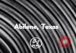 Image of Jet Air Show Abilene Texas USA, 1956, second 2 stock footage video 65675040954