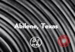 Image of Jet Air Show Abilene Texas USA, 1956, second 3 stock footage video 65675040954