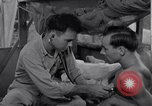 Image of sick patients Green Island South Pacific, 1944, second 9 stock footage video 65675040961
