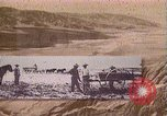 Image of Borax transport by 20 mule teams Death Valley California USA, 1894, second 13 stock footage video 65675040984