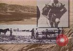Image of Borax transport by 20 mule teams Death Valley California USA, 1894, second 16 stock footage video 65675040984