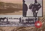 Image of Borax transport by 20 mule teams Death Valley California USA, 1894, second 18 stock footage video 65675040984