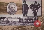 Image of Borax transport by 20 mule teams Death Valley California USA, 1894, second 19 stock footage video 65675040984
